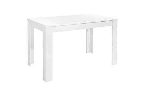 Homexperts Nick Tisch, Spanplatte, Weiß, 120 x 80 cm