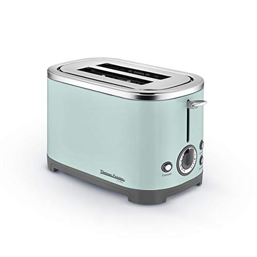 700W 2 Slot Defrost and Reheat Toaster Vintage Cuisine by Cooking (Mint)