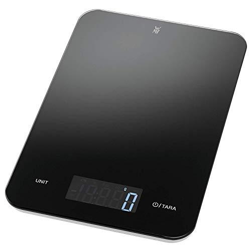 WMF Digitale Küchenwaage Backwaage Haushaltswaage schwarz grammgenau hohe Präzision...