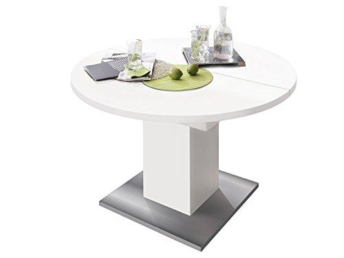 möbelando Esszimmertisch Tisch Esstisch Küchentisch Speisentisch Holztisch Judd II...