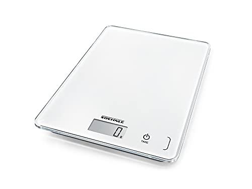 Soehnle Page Compact 300 weiß, digitale Küchenwaage bis zu 5 kg Tragkraft,...