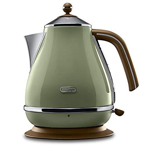 De'Longhi Wasserkocher Icona Vintage KBOV2001.GR - 1,7 l mit Wasserstandsanzeige und...