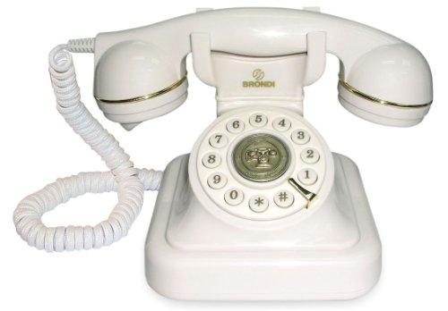 Brondi Vintage 20 Weiß - Telefone (Weiß)