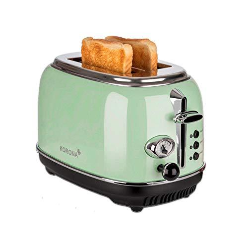 Korona 21665 Toaster, 2 Scheiben, Mint, Röstgrad-Anzeige, auftauen, rösten,...