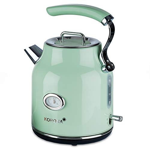 Korona 20665 Korona 20665 - elektrischer Wasserkocher, Mint, 1, 7 Liter, 2.200 Watt,...