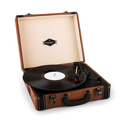 auna Jerry Lee, Plattenspieler, Schallplattenspieler, Riemenantrieb,...