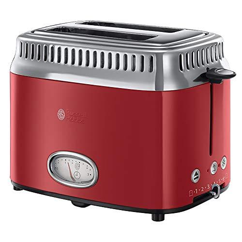 Russell Hobbs Retro Vintage 21680-56 Toaster (1300W, Countdown-Anzeige im...