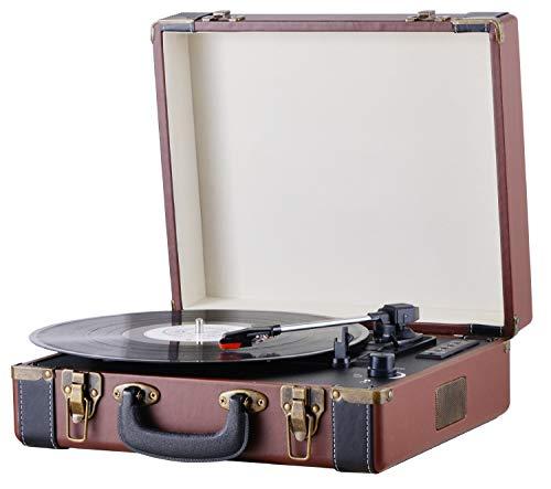 Plattenspieler Koffer | Schallplattenspieler | Turntable | Nostalgie Retro...