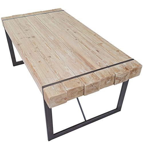 Mendler Esszimmertisch HWC-A15, Esstisch Tisch, Tanne Holz rustikal massiv ~...