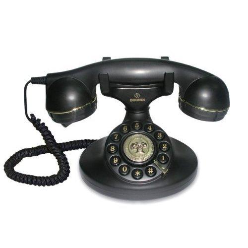 Brondi Nostalgietelefon Vintage 10, schwarz