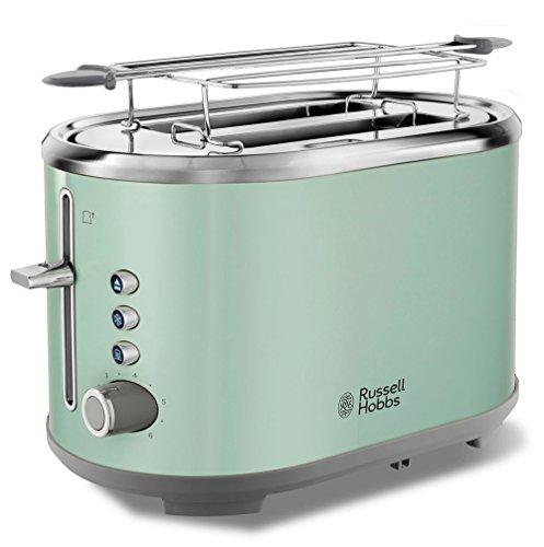 Russell Hobbs Toaster Bubble grün, 2 extra breite Toastschlitze, inkl....