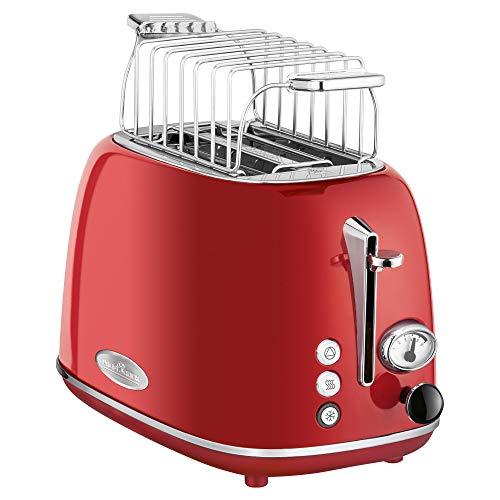ProfiCook PC-TA 1193 Toaster 2-Scheiben-Toaster, Vintage-Look, Edelstahlgehäuse,...