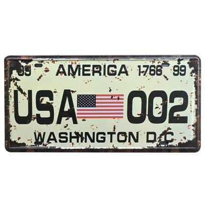 Newcave New USA Auto Metall Nummernschild Vintage Home Decor Blech Schild Bar Pub...