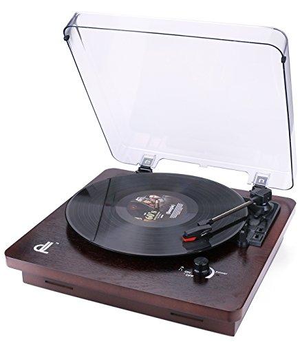 PC-Aufnahme Plattenspieler Von dl Schallplattenspieler mit Vintage Plattenspieler...