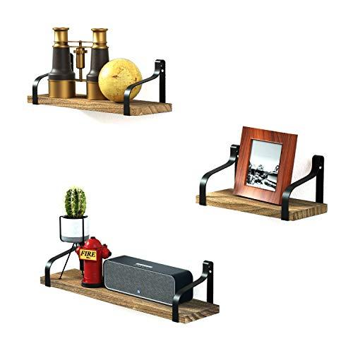 Love-KANKEI Wandregal Schweberegal Hängeregal U-Form Wandboard 3er Set, Ideal für...