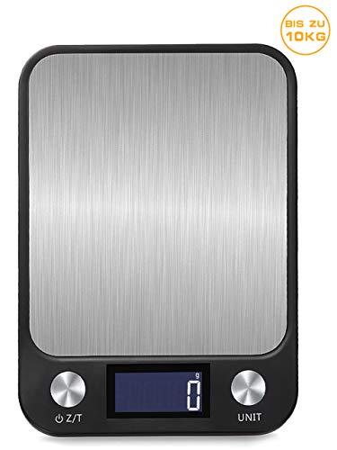 BENEFAST 1g bis 10 Kg Touch Control Digitale Küchenwaage, USB Aufladen, leuchtende...