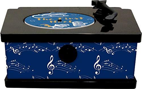 Sound-Adventskalender - It's Christmas Time: Vintage-Plattenspieler mit 24...
