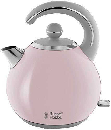 Russell Hobbs Wasserkocher Bubble Pink, 1,5l, 2300 Watt, abnehmbarer Deckel,...