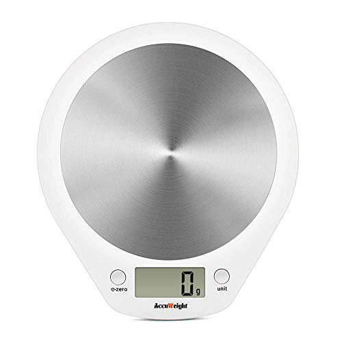 ACCUWEIGHT Digitale Küchenwaage Haushaltswaage Digitalwaage elektronische Waage...