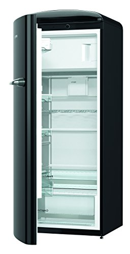 Gorenje ORB 153 BK-L Kühlschrank mit Gefrierfach / A+++ / Höhe 154 cm / Kühlen:...