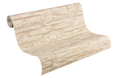 A.S. Création Vliestapete Best of Wood and Stone Tapete in Stein Optik...