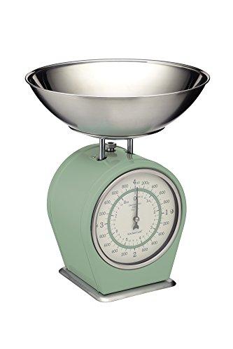 Kitchen Craft Living Nostalgia Mechanische Küchenwaage, 4 kg (8 lbs) -Englischer...