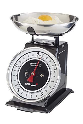Korona 76150 Mechanische Küchenwaage Tom – Analog Wiegen im Retro Look –...
