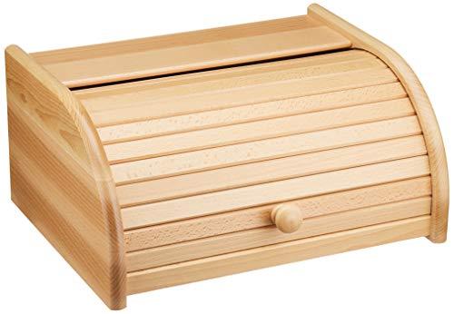 TNNature Brotkasten Buche lackiert   Holz aus nachhaltiger europäischer...