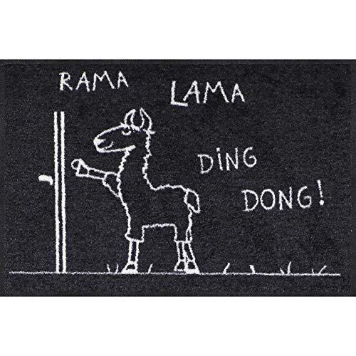 Salonloewe Fußmatte Rama Lama Ding Dong 050x075 Fußabtreter außen, Hauseingang,...