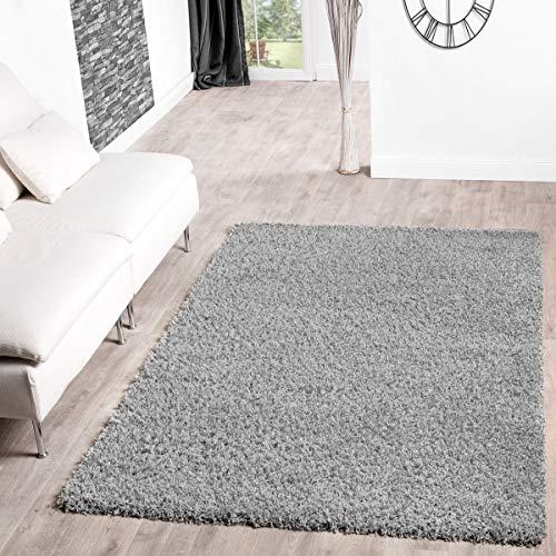 T&T Design Shaggy Teppich Hochflor Langflor Teppiche Wohnzimmer Preishammer Versch....