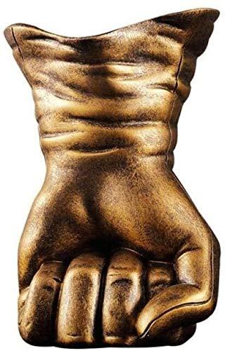 Desktop-Skulptur Statue Ornamente Skulpturen Hand Modell Weinregal Vintage Hand...