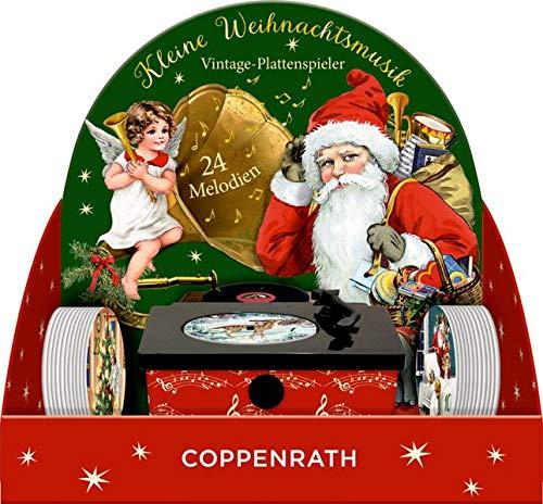 Sound-Adventskalender – Kleine Weihnachtsmusik: Vintage-Plattenspieler mit 24...