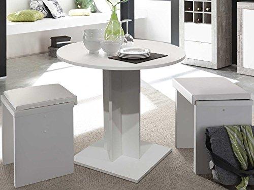 möbelando Esszimmertisch Esstisch Küchentisch SpeisentischTisch Holztisch Judd I...