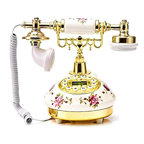 circulor Retro Telefon Vintage, Keramisches Europäisches Telefon, Amerikanisches...