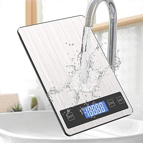 FATE TO FATE Digitale Küchenwaage, 5kg/11lb Digital Küchenwaagen Digitalwaage...