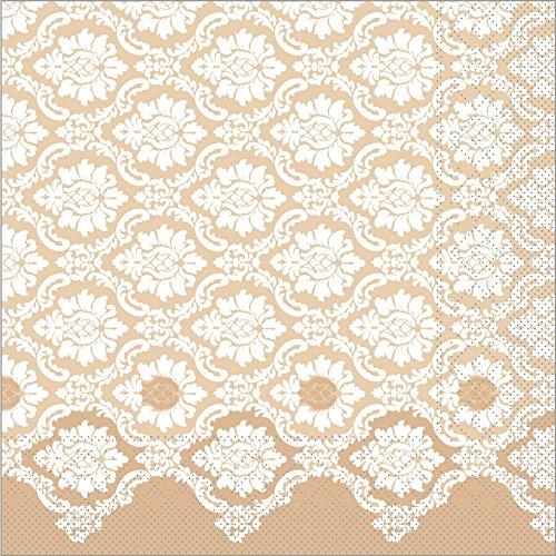 Sovie HORECA Serviette Mandy | Tissue-Servietten 40x40 cm | saugstarke und...