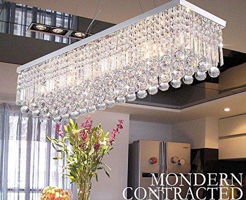 Dst Moderne Kristall Kronleuchter Lichter, Luxus K9 Kristall Tröpfchen Elegante...