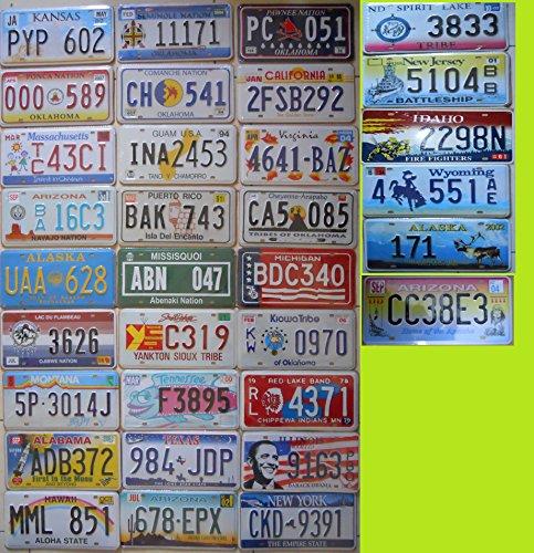 Fabbri N ° 12Metallschilder USA 31x 16cm Wiedergabe