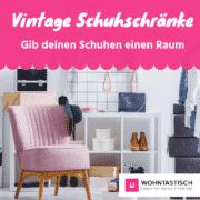 Vintage Schuhschrank