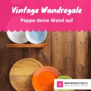 Vintage Wandregal