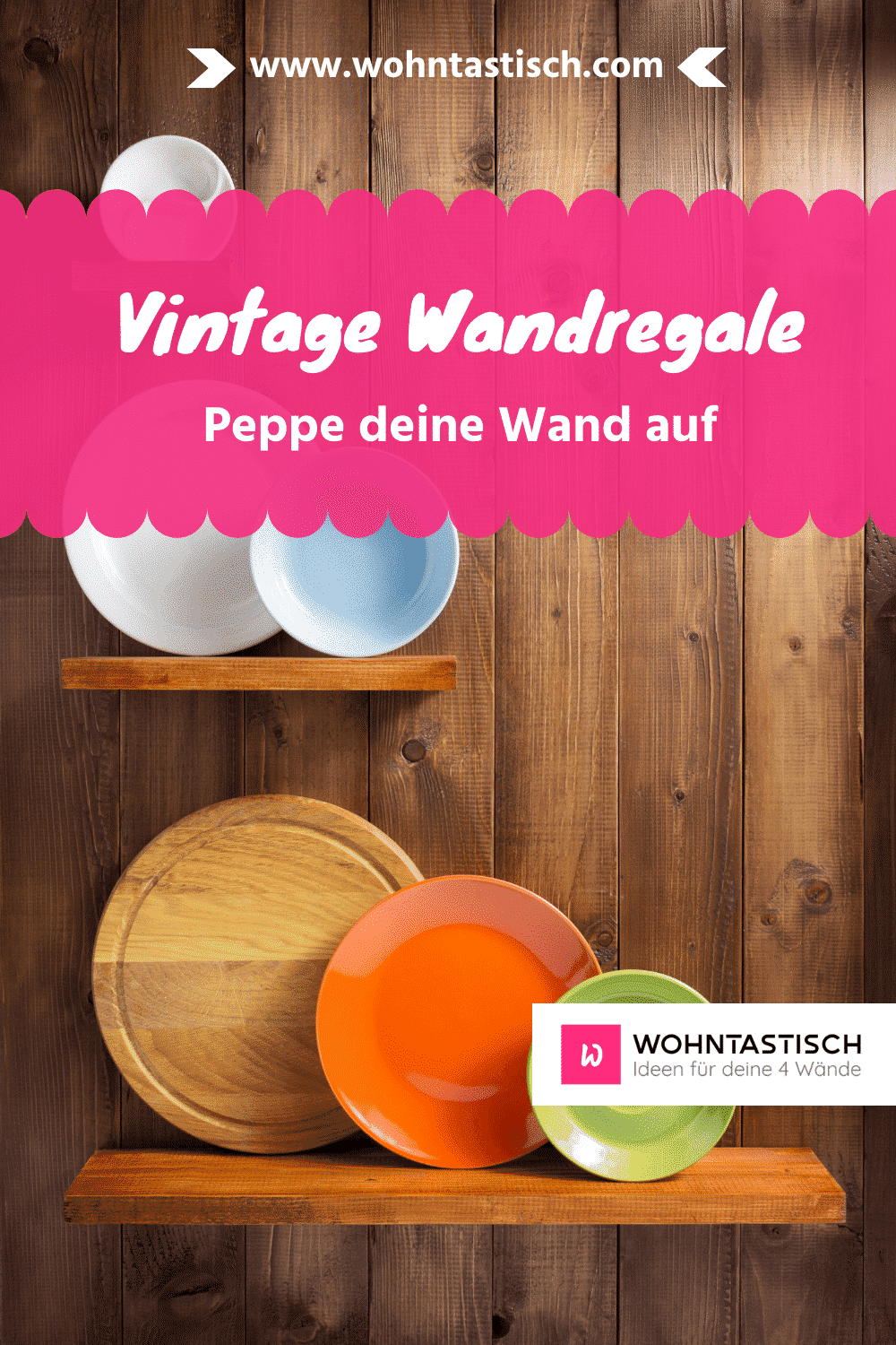 Vintage Wandregal