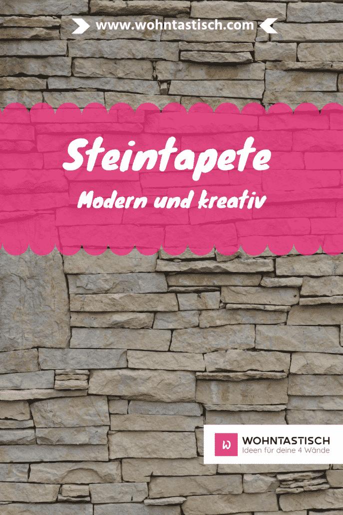 Steintapete – Industrial Design für dein Wohnzimmer