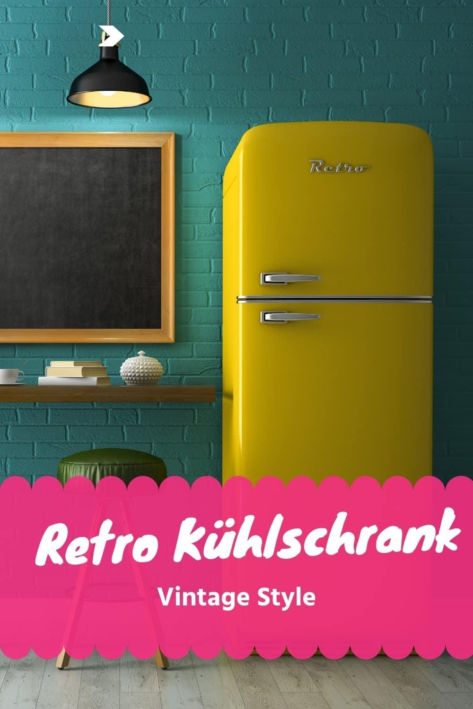 Retro Vintage Kühlschrank – Hol die 60er/70er ins Haus
